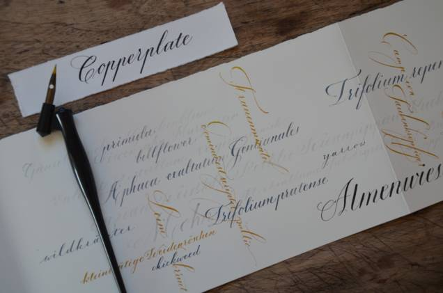 COPPERPLATE - Vintage Schrift