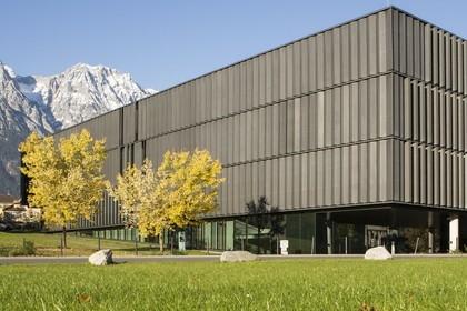 Außenansicht der UMIT, Private Universität für Gesundheitswissenschaften, Medizinische Informatik und Technik